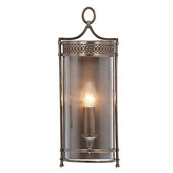 Elstead-1 lys indendørs væg lys mørk bronze-GH/WB DB
