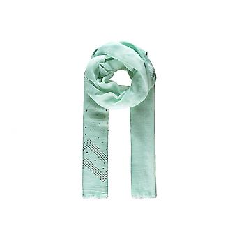 Intrigue Womens/Ladies Wavy Sequin Embellished Scarf