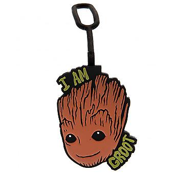 Marvel Guardians Of The Galaxy Groot Luggage Tag