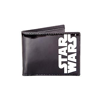 Star Wars Classic Black and White Logo Bi-Fold Wallet
