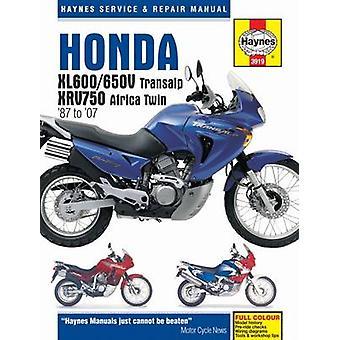 Honda XL600/650 Motorcycle Repair Manual by Editors of Haynes Manuals