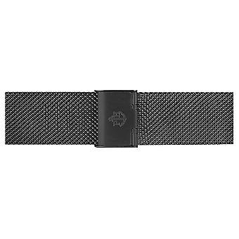 Paul Hewitt Black Stainless Steel Mesh Bracelet 186mm PH-M1-G-5M Watch