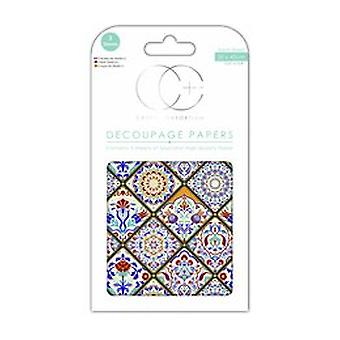 Craft Consortium Turkish Delight Decoupage Papers