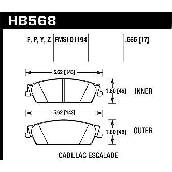 Hawk Performance HB568Z.666 PC