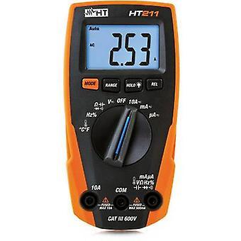 HT Instruments HT211 Handheld multimeter Digital CAT III 600 V Display (counts): 4000