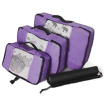 Mesh organizing Set, 3 pcs-Purple