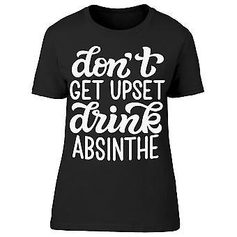 Dont bli upprörd Absinthe tee kvinnor ' s-bild av Shutterstock