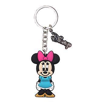 Minnie Mouse sleutelhanger nieuwe officiële Disney rubber