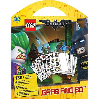 Stickers Grab and Go - Lego Batman - Classic New Decals Toys st9143