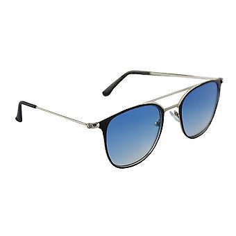 Sunglasses UV 400 Aviator Silver LichtblauwHL195_1