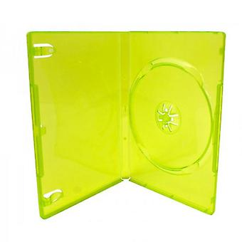 Compatible replacement retail game cartridge case for microsoft xbox 360 - 2 pack green