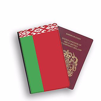 BELARUS Flag Passport Holder Style Case Cover Protective Wallet Flags design