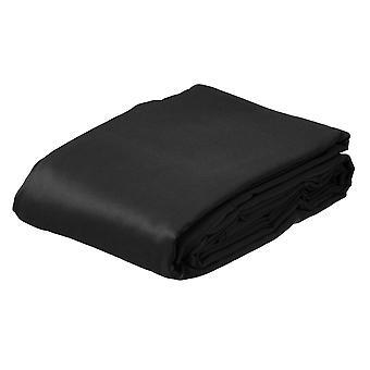 BRESSER BR-8P Tissu de fond en polyester 3x6m noir