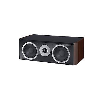 HECO musica stile Center 2, 2 modo woofer centro riflesso, colore: caffè espresso, 1 pezzo nuove merci