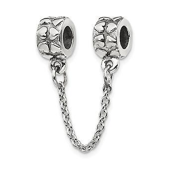 925 Sterling Silber Reflexionen Sicherheit Kette Liebe Herz Perle Anhänger Anhänger Halskette Schmuck Geschenke für Frauen