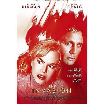 De invasie (dubbelzijdig regelmatig) (2007) originele Cinema poster