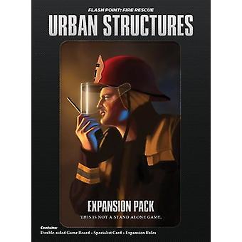 Vlampunt brand redding stedelijke structuur