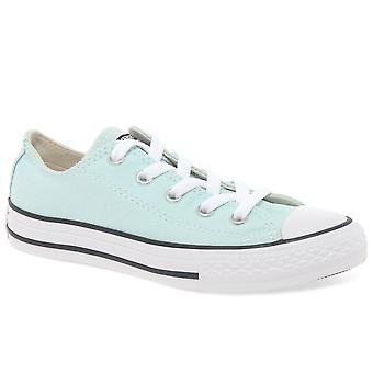 كونفيرس أكسفورد الدانتيل الفتيات الشباب قماش الأحذية