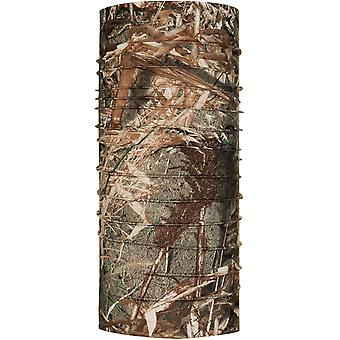 Buff Coolnet UV + Mossy Oak Neck Cieplej w duck blind