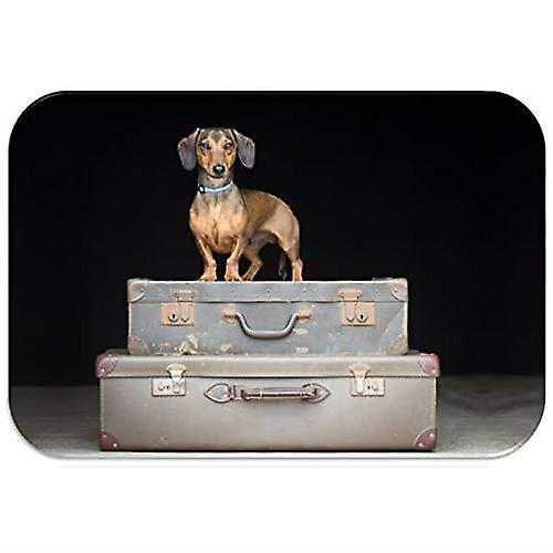 Country Matters Printed Placemat - Dachshund Travels