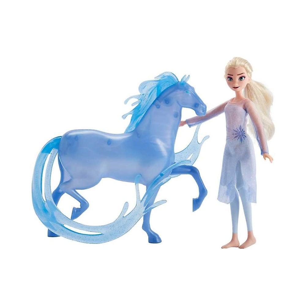 Disney fryst Frozen 2 Elsa Fashion Doll & Nokk figur