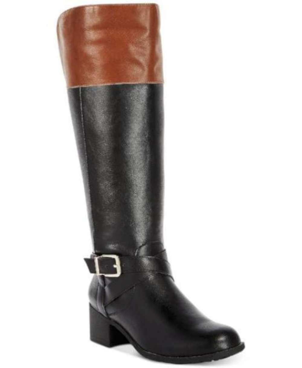 Style & Co. Womens Gensou Fermé Toe Knee High Fashion Bottes