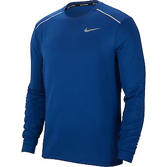 Nike Element 3.0 Crew Long Sleeve | Obsidian Indigo Force