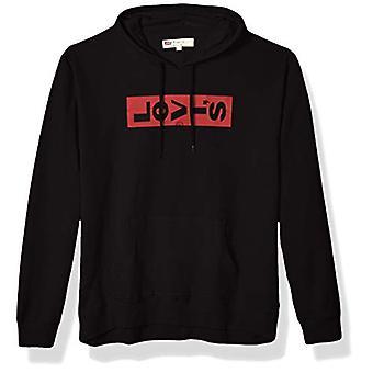 Levi&s Uomini's Felpa classica, Caviale/Logo scheda pigro, Piccolo