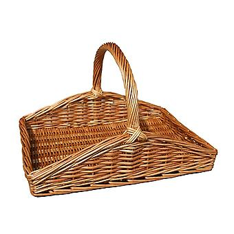 Light Steamed Wicker Garden Trug