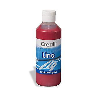 Creall Havo37004 250 ml 04 Dark Red Havo Lino Ink Bottle
