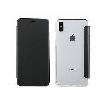 Estojo para iPhone Xs Max Folio Preto