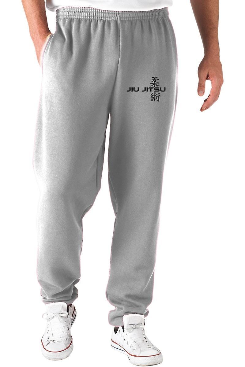 Pantaloni tuta grigio wtc1291 jiu jitsu cant take a choke frontback