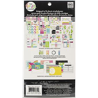 Gelukkig planner Notitiekaarten/Sticky Note multi pack-brights, 463/pkg