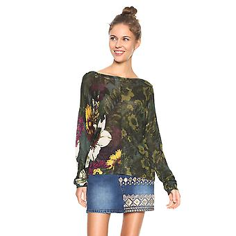 Desigual Women's Floreado Jumper Sweater