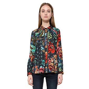 Desigual Women's Floral Print Toscana Shirt