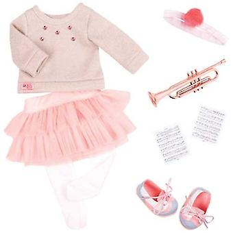 Our Generation Fashion Notes Dolls Outfit