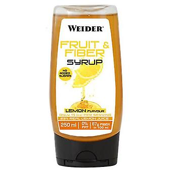 Weider Fiber and Fruit Syrup 250 ml