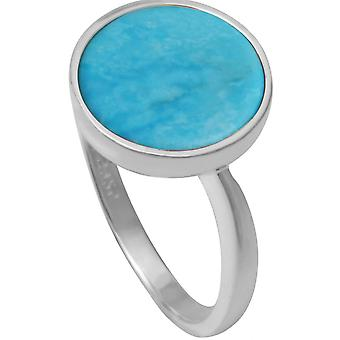 Clio Blue BA1057T ring - ring Sissi II blue silver woman