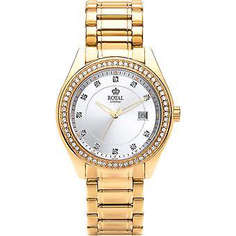 Show Royal London 21276-08 - watch round e Dor brilliant woman