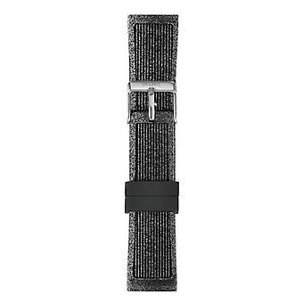 Watch I Am The Watch IAM-218 - Black Glitter Steel Loop Bracelet / Medium 18 mm