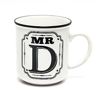 History & Heraldry Alphabet Mugs-mr D