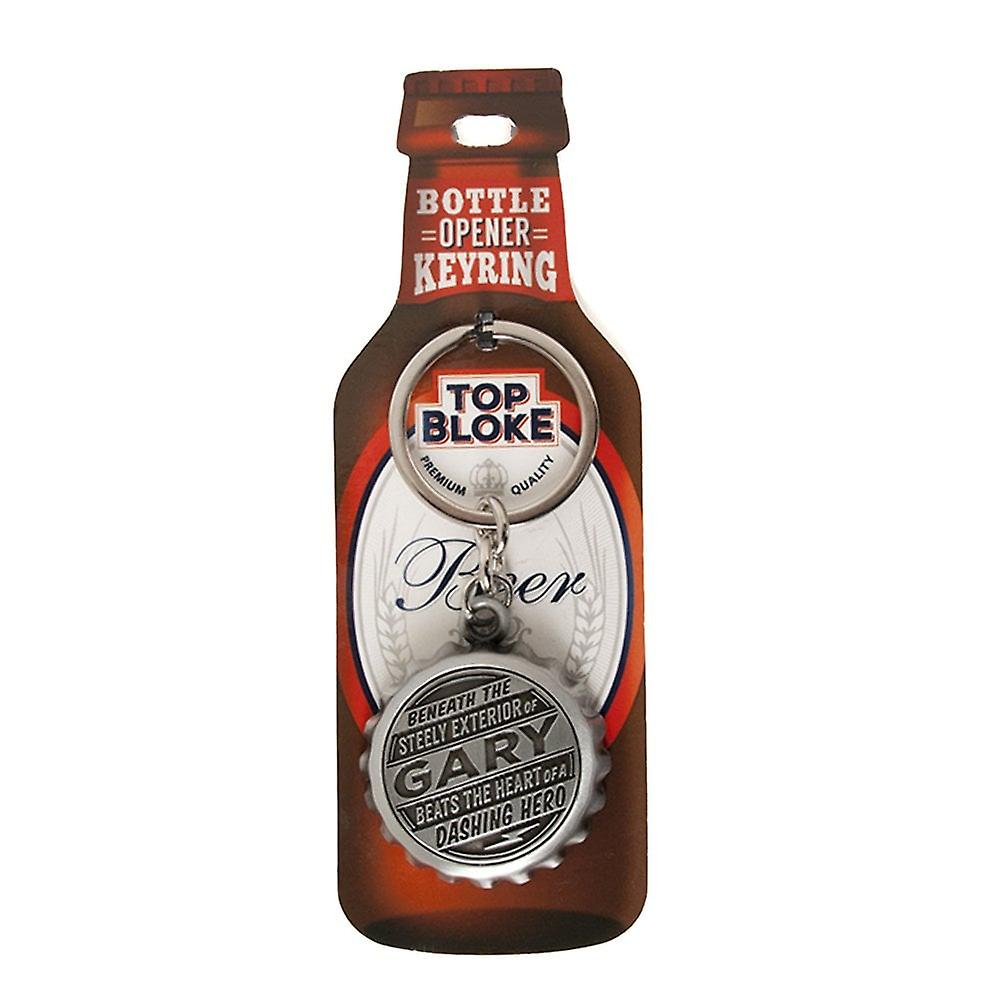History & Heraldry Keyring - Gary Bottle Opener