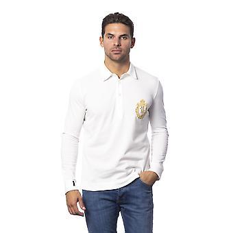 Long-sleeved white men's White