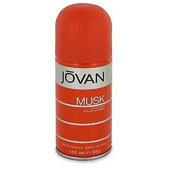 Jovan Musk By Jovan Deodorant Spray 5 Oz (men) V728-543125