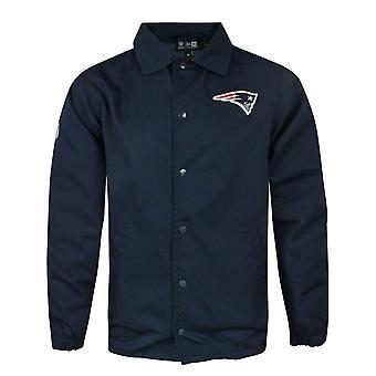 New Era NFL New England Patriots Team Coach Men's Jacket