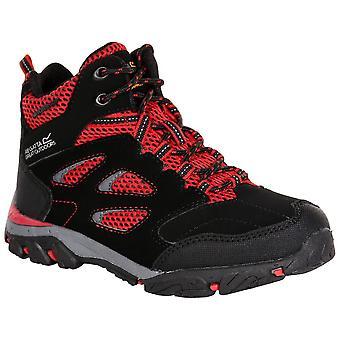 Regata Black/pepper Childrens Holcombe IEP Mid Junior Walking Boot