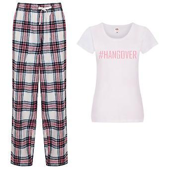 pigiama #Hangover Ladies Tartan Trouser