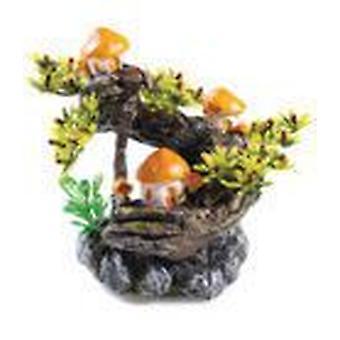 Klassiska för husdjur svamp träd T & OS 2st (fisk, dekoration, prydnadsföremål)