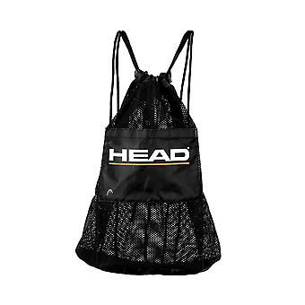 HEAD Mesh Bag With Pocket - Black