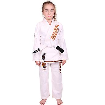 Tatami Fightwear Meerkatsu Kids Animal BJJ Gi - White